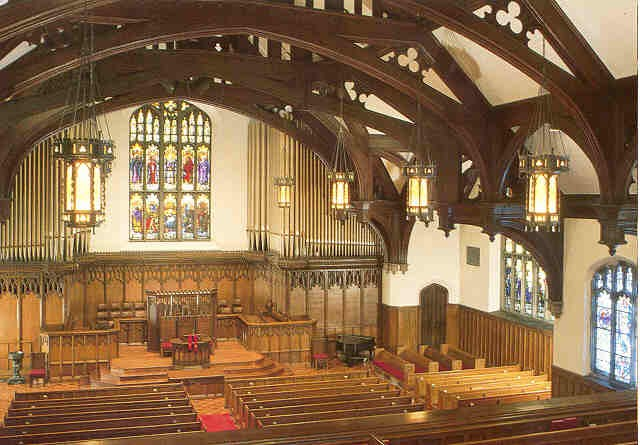 Skinner organ, Op. 155 (1908) in Plymouth Congregational Church (Minneapolis, MN)