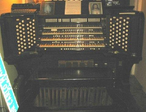 Console of Aeolian-Skinner organ, Op. 155-A built for Plymouth Congregational Church (Minneapolis, MN) as moved to Dr. Carlo Mannino Residence, Bronx, NY