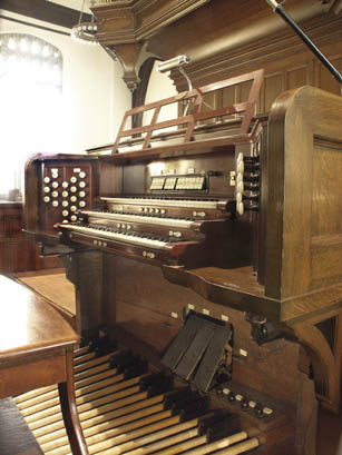 Skinner organ, Op. 191 (1911) in First Congregational Church (Fall River, MA)