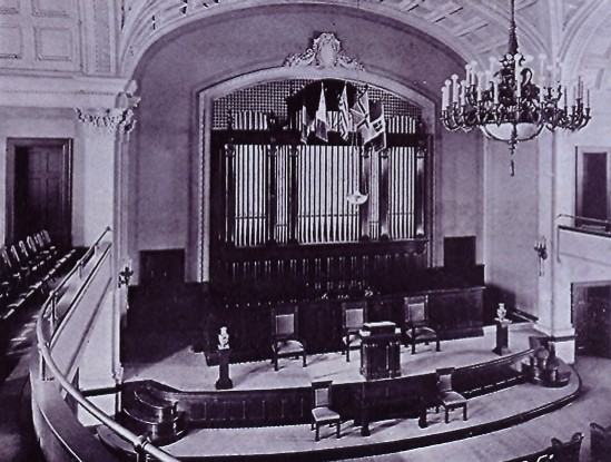 Skinner organ, Op. 273 (1917) in First Christian Church (St. Joseph, MO)