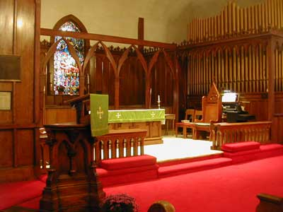 Skinner organ, Op. 282 (1917) in St. Philip's Episcopal Church (Wiscasset, ME)