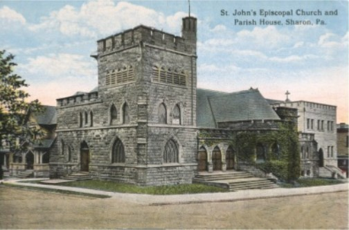 St. John the Divine Episcopal Church (Sharon, PA)