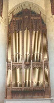 Skinner organ, Op. 808 (1929) in Trinity Lutheran Church (Detroit, MI)