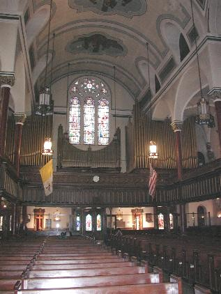 Holy Cross Catholic Church (New York City, NY) -  Credit: Churchcrawler website
