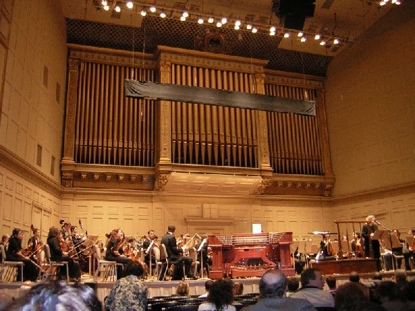 Foley- Baker Console (2004) on Aeolian-Skinner organ, Op. 1134 (1949) in Symphony Hall (Boston, MA)