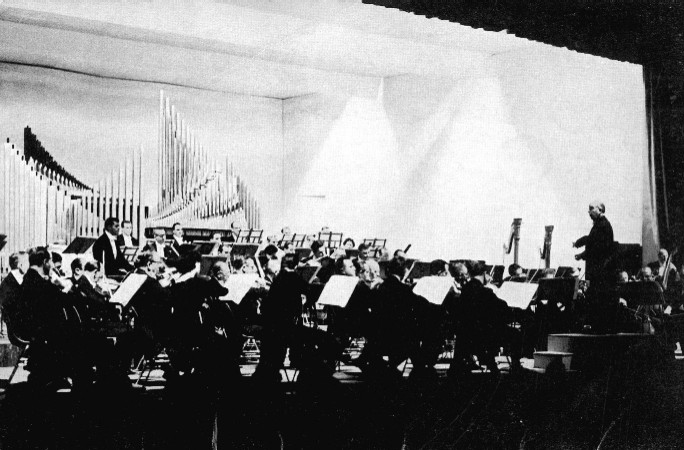 Detroit Symphony Orchestra and Aeolian-Skinner Organ, Op. 1324 (1955) in Ford Auditorium (Detroit, MI)