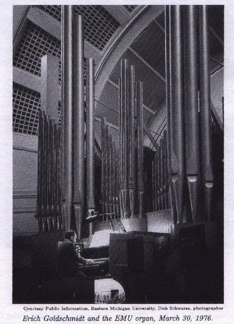 Aeolian-Skinner organ, Op. 1348 (1960) in Pease Auditorium - Eastern Michigan University (Ypsilanti, MI)
